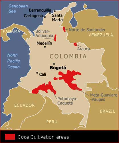 drug trafficking colombia Us concerns about illicit drug production and trafficking in colombia arose in the 1970s and  colombia's changing approach to drug policy  of cocaine)-.