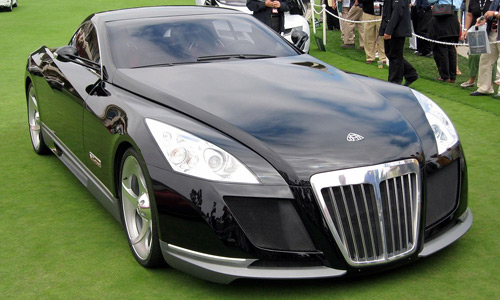 Autos lujosos: Maybach Exelero