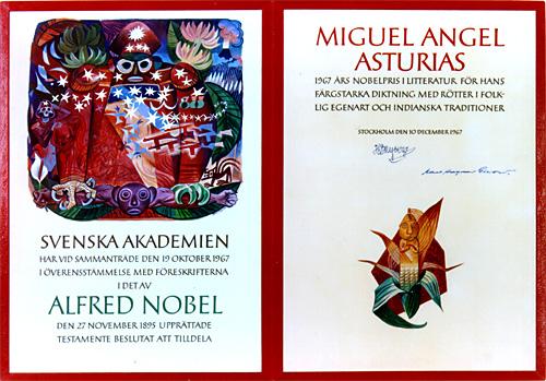 Miguel Angel Asturias - Premio Nobel de Literatura 1967