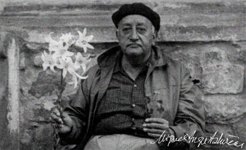 Miguel Angel Asturias anciano