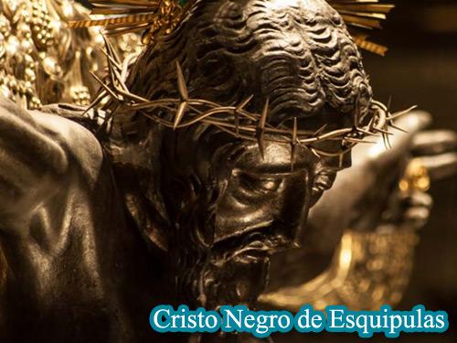 Imagen del Cristo Negro de Esquipulas