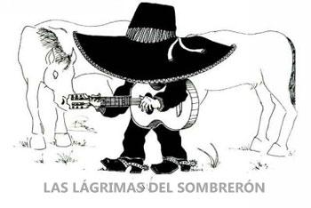 El Sombrerón cantando