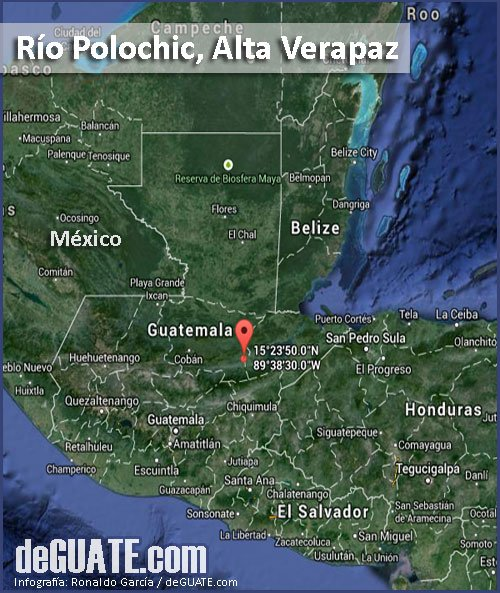 Maoa Rio Polochic en Guatemala
