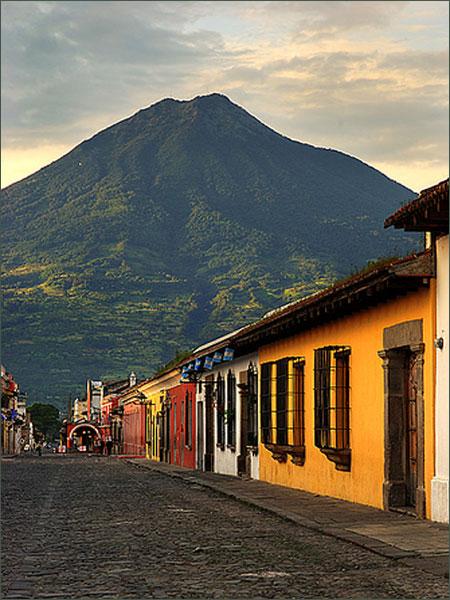 Volcan de Agua en Guatemala