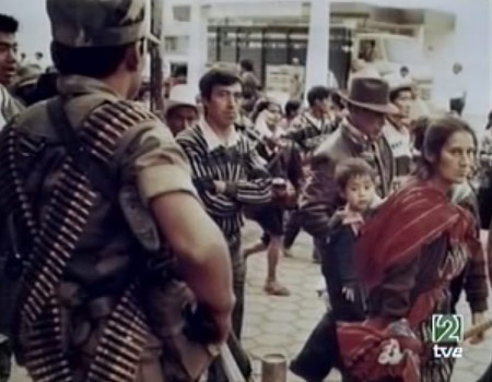 Campesinos marchan en Guatemala