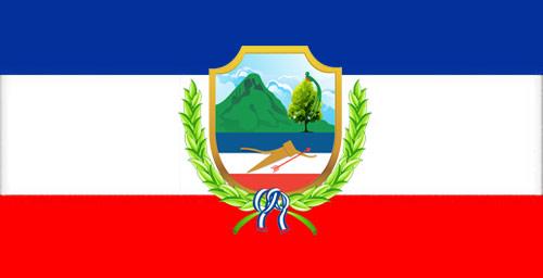 Bandera del Estado de Los Altos, Guatemala, 1838 - 1840