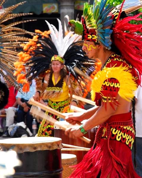 Danza de los guacamayos