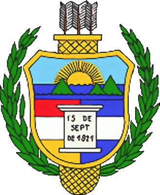 Escudo de Guatemala de 1851 a 1858