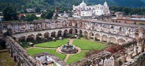 Ruinas del Convento de Capuchinas en Antigua