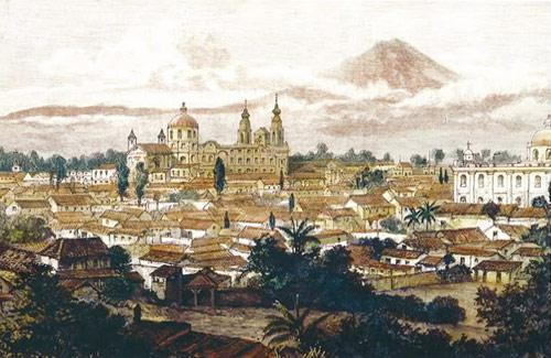 Santiago de los Caballeros, hoy Antigua Guatemala