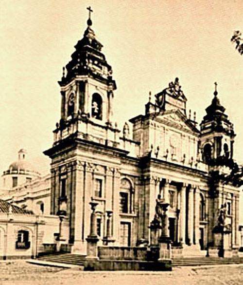 Reconstruccion Catedral Guatemala