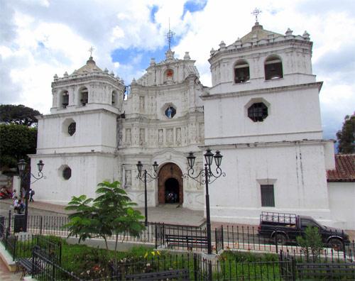 Primera Catedral de Guatemala en Ciudad Vieja
