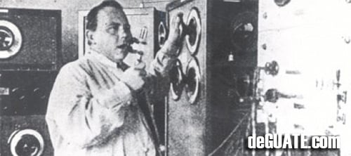 Julio Caballeros padre de la Radio en Guatemala
