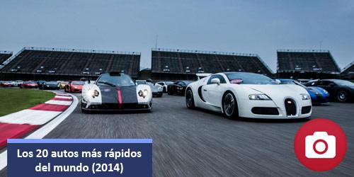 Los 20 autos mas rapidos del mundo en 2014