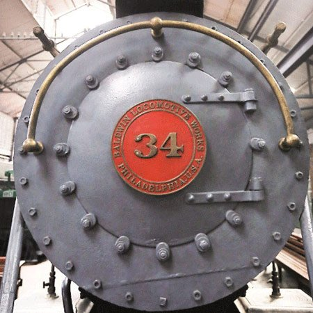 Locomotora a Vapor - Museo del Ferrocarril de Guatemala