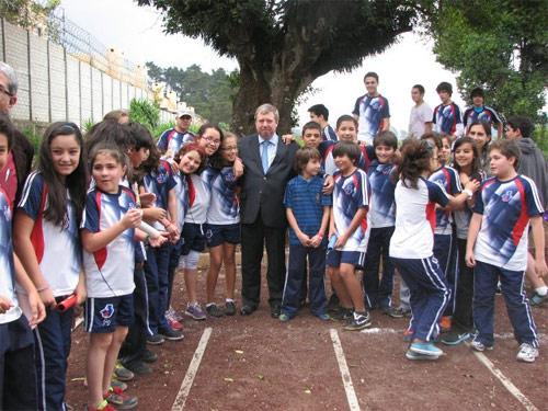 Alumnos Julio Verne Guatemala