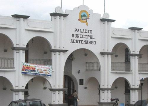 Palacio municipal de Acatenango, Chimaltenango