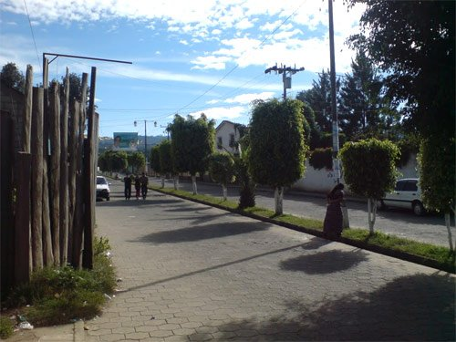 Calles de Parramos, Chimaltenango, Guatemala