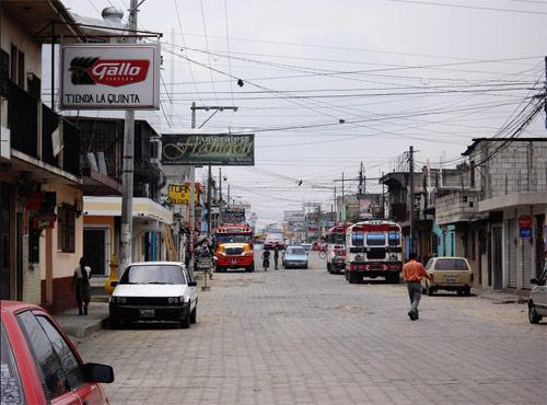 Calles de Chimaltenango, Chimaltenango, Guatemala
