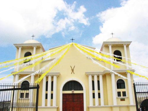 Capilla San Simón en San Andrés Itzapa, Chimaltenango