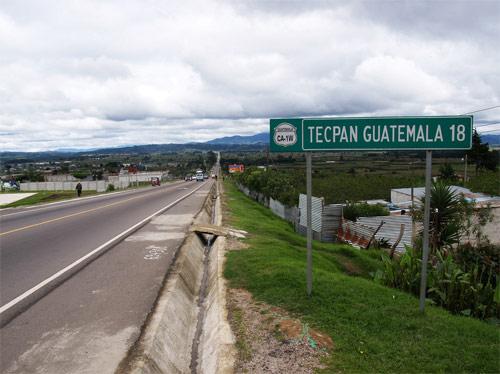 Carretera hacia Tecpán, Chimaltenango, Guatemala