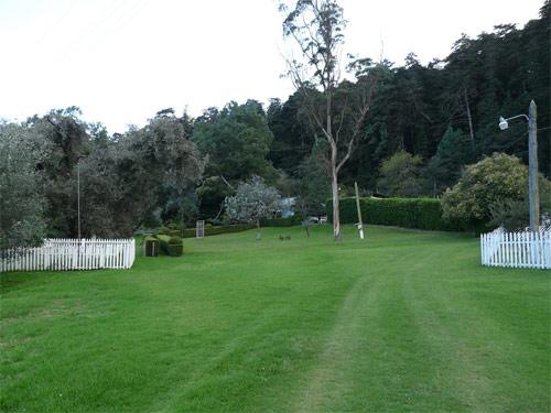Área verde de Casa Xara, Chimaltenango