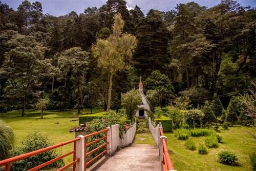 Camino hacia Capilla Casa Xara, Chimaltenango