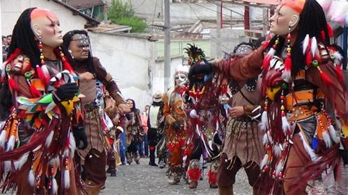 El Baile de los Moros, San Martín Jilotepeque, Chimaltenango