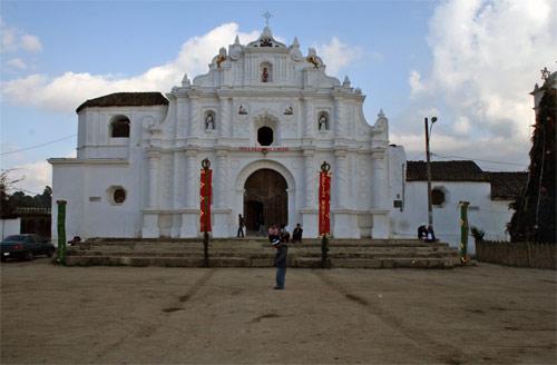 Iglesia en Chimaltenango, Guatemala