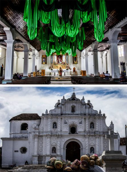 Iglesia colonial San Juan Bautista, Comalapa, Chimaltenango