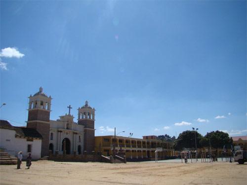 Plaza San Juan Bautista, Chimaltenango