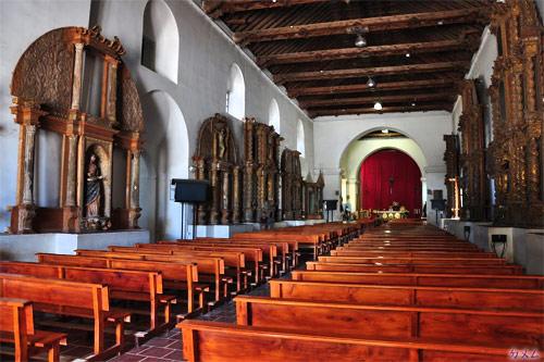 Interior de la Catedral San Francisco de Asis, Guatemala