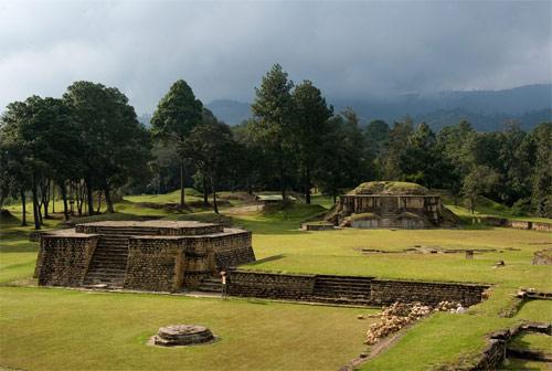 Parque arqueológico Iximché, Chimaltenango, Guatemala