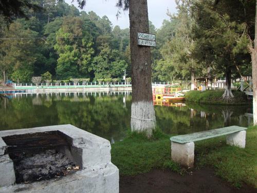 Área de caminata y picnic en Los Aposentos, Guatemala