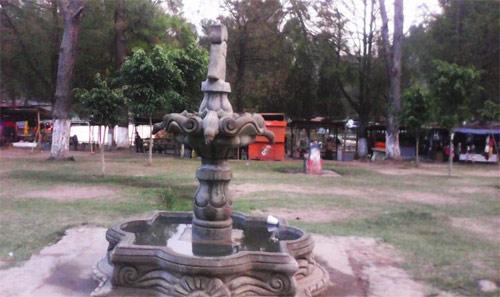 uente en Los Aposentos, Chimaltenango