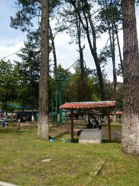 Kioskos en Los Aposentos, Chimaltenango