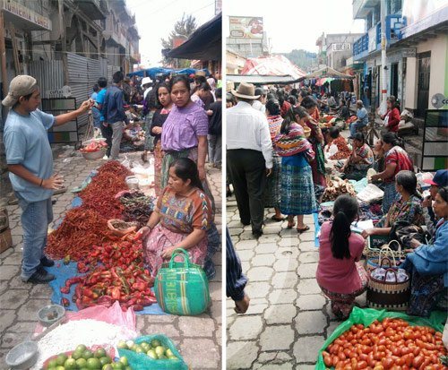 Mercado de San Juan Comalapa, Chimaltenango
