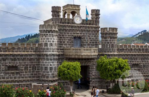 Palacio de la PNC, Ciudad de Tecpán, Chimaltenango, Guatemala