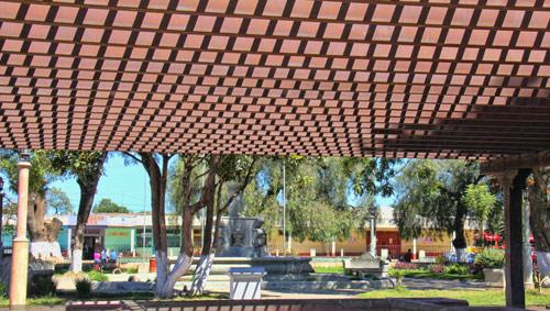 Parque / Plaza de Parramos, Guatemala