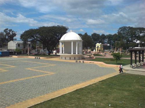 Plaza central de Parramos, Chimaltenango