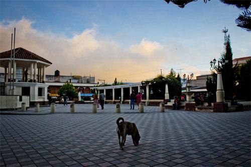 Parque central, Tecpán, Chimaltenango