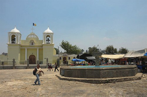 Plaza Central San Martín Jilotepeque, Chimaltenango