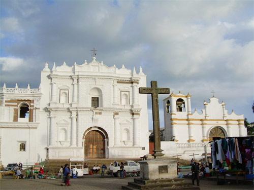 Templo parroquial de Patzún, Chimaltenango, Guatemala