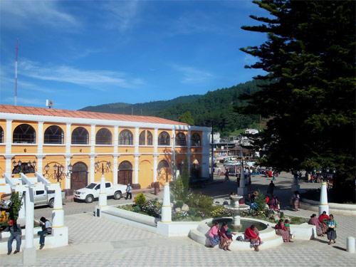 Plaza central de Tecpán, Chimaltenango