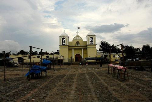 Plaza Central Jilotepeque, Chimaltenango