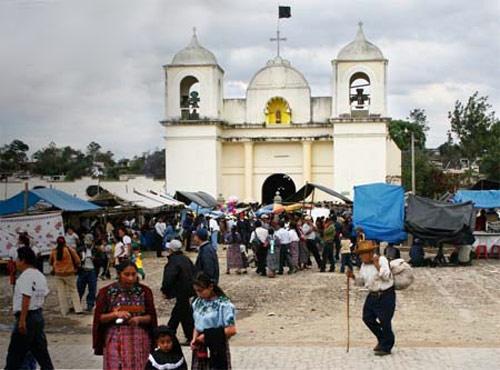 Parroquia de San Martín Jilotepeque, Chimaltenango, Guatemala