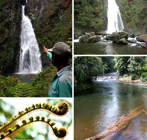 Cascadas en Ram Tzul