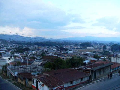 Vista panorámica de San Andrés Itzapa, Chimaltenango