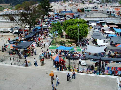 Mercado de San Andrés Itzapa, Chimaltenango