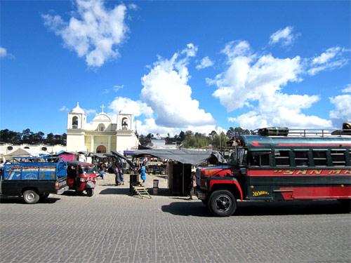 Plaza Central, San Martín Jilotepeque, Chimaltenango